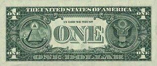 Один доллар США (реверс), 1$