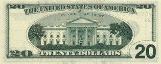 Двадцать долларов США (реверс), 20$