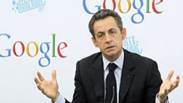 """""""Налог на Google"""" – предложение Саркози"""