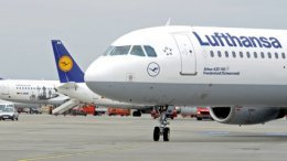 Немецкая авиакомпания Lufthansa