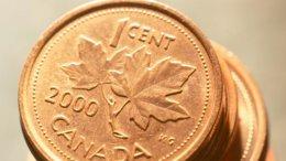 В Канаде больше не будет монет в 1 цент