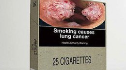 Продажа брендовых сигаретных пачек в Австралии запрещается