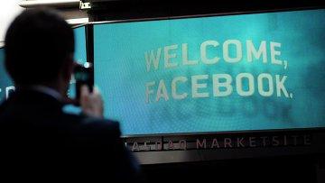 Рекордное падение акций Facebook до 19 долларов