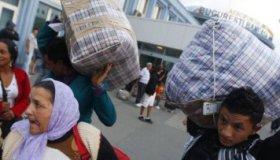 Цыгане получили по 300 евро и были отправлены в Румынию