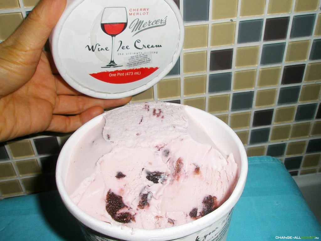 Мороженое из вина рецепт
